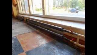 Отопление из стальных гладких труб(Видео различных вариантов изготовления регистров отопления., 2014-07-21T17:57:46.000Z)