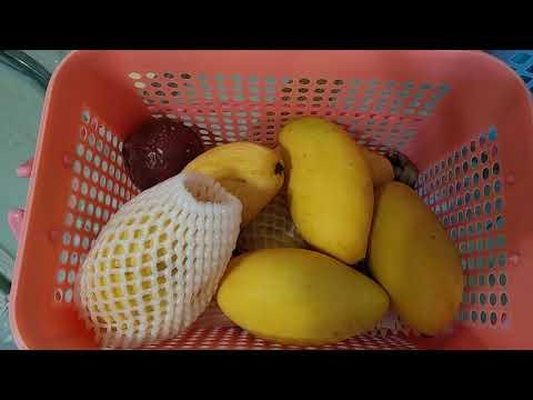 Правильная перевозка фруктов из Таиланда. Таиланд. Пхукет 2019
