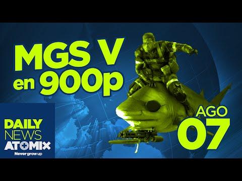 #AtomixDailyNews [07/08/15] – MGS V a 900p