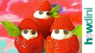 How To Make A Simple Strawberry Dessert (strawberry Elves)