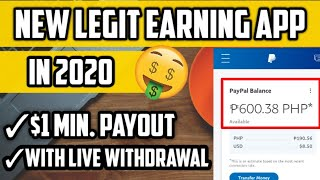 EARN PAYPAL MONEY WITH PROOF OF PAYMENT  ( LEGIT PAYING APP IN 2020 PHILIPPINES )