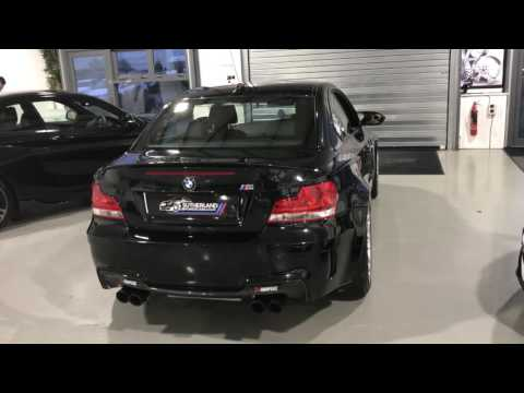 Bmw 1M with Akrapovic start up VS BMW M2 with Mperformance exhaust!!