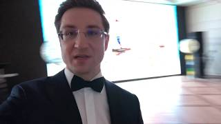 Crystal Ballroom в башне «Око», Москва-Сити