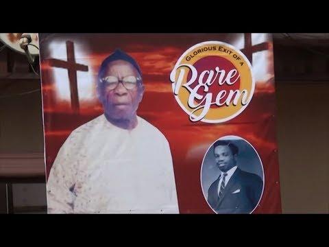 CELEBRATION OF LIFE AS CHIEF AUSTINE BURIES DAD.....PA JEROME IGBOANUGO EKWENSI