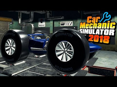 Stage 1 Drag Race Competition   0-60 MPH + Top Speed + Style   Car Mechanic Simulator 2018