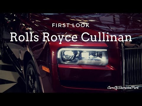 First Look: Rolls-Royce Cullinan