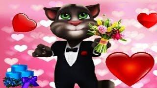 МОЙ ГОВОРЯЩИЙ ТОМ и ГОВОРЯЩАЯ АНДЖЕЛА #273 Мультик для детей Мульт про котиков #Мобильные игры