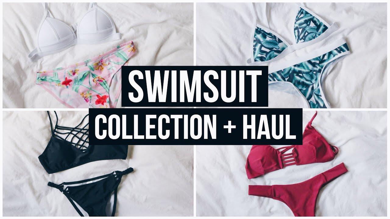 e00fb83709 Swimsuit Collection + Ebay Bikini Haul Summer 2016! - YouTube