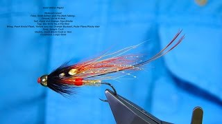 Tying a Gold Glitter Piglet (Salmon Fly) by Davie McPhail