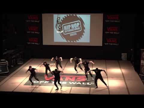 REAL CREW (LARISA) - 1ST PLACE ADULTS HHI GREECE 2017