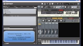 Repeat youtube video Prezentacija semplovanih harmonika + download link semplova