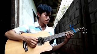 Tình Khúc Vàng - guitar solo fingerstyle version Đan Trường