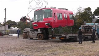 【長編】名鉄最後の5700系 5704F 解体!2019.12.7 5704Fの廃車をもって5700系は形式消滅