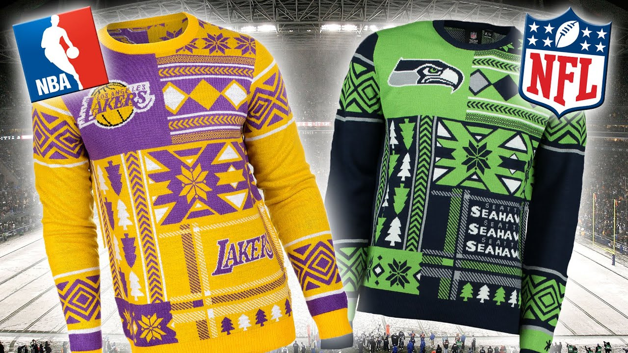 newest 82b7e 43daa NBA And NFL Christmas Jumpers 2015 | Ugly Sweaters