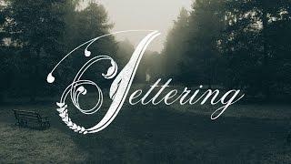Hand Lettering Vectorising In Adobe Illustrator CC