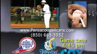 Pensacola Pelicans Negro Baseball League Night