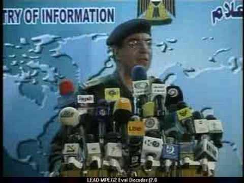 Bagdad Bob: Iraqi Information Minister