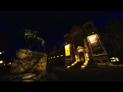 360 VR Tour | Stockholm | Nordic Museum | Nordiska museet | Evening | Outside | No comments tour