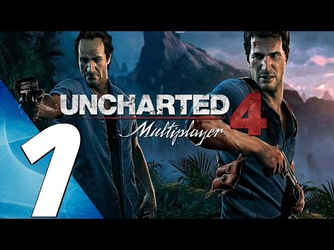 Uncharted 4 Multiplayer - Online Gameplay Session Part 1 - First Matches (Full Game)
