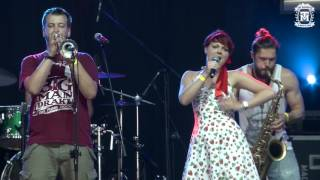 The Mugshots - Come on Eileen Live @ Woodstock Festival 2016 (Save Ferris cover)