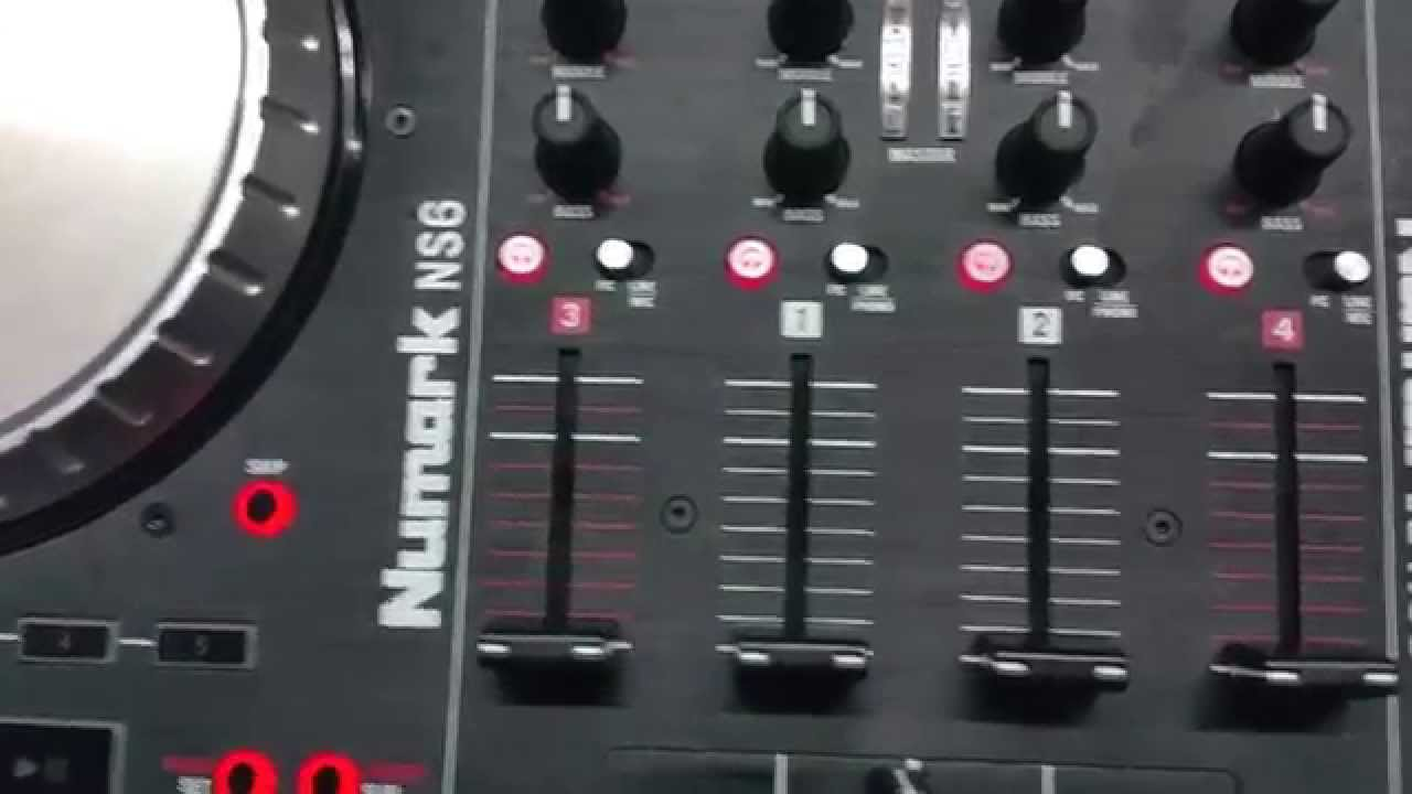 numark ns6 crossfader replacement