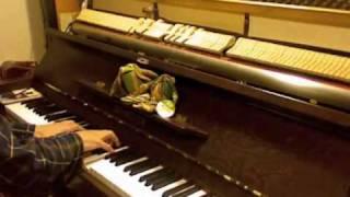はちみつぱいの名曲「塀の上で」(作曲: 鈴木慶一)をピアノで。矢野顕子...