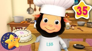 Learn How To Pat A Cake | Fun Learning with LittleBabyBum | NurseryRhymes for Kids