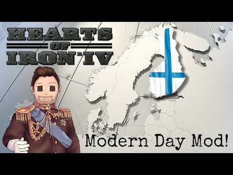 Hearts of Iron 4 | Modern Day Mod | Finland | Episode 1 | New Series!