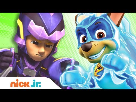 Mighty Pups Save Adventure Bay from Harold Humdinger & His Giant Robot! 🤖 PAW Patrol | Nick Jr.