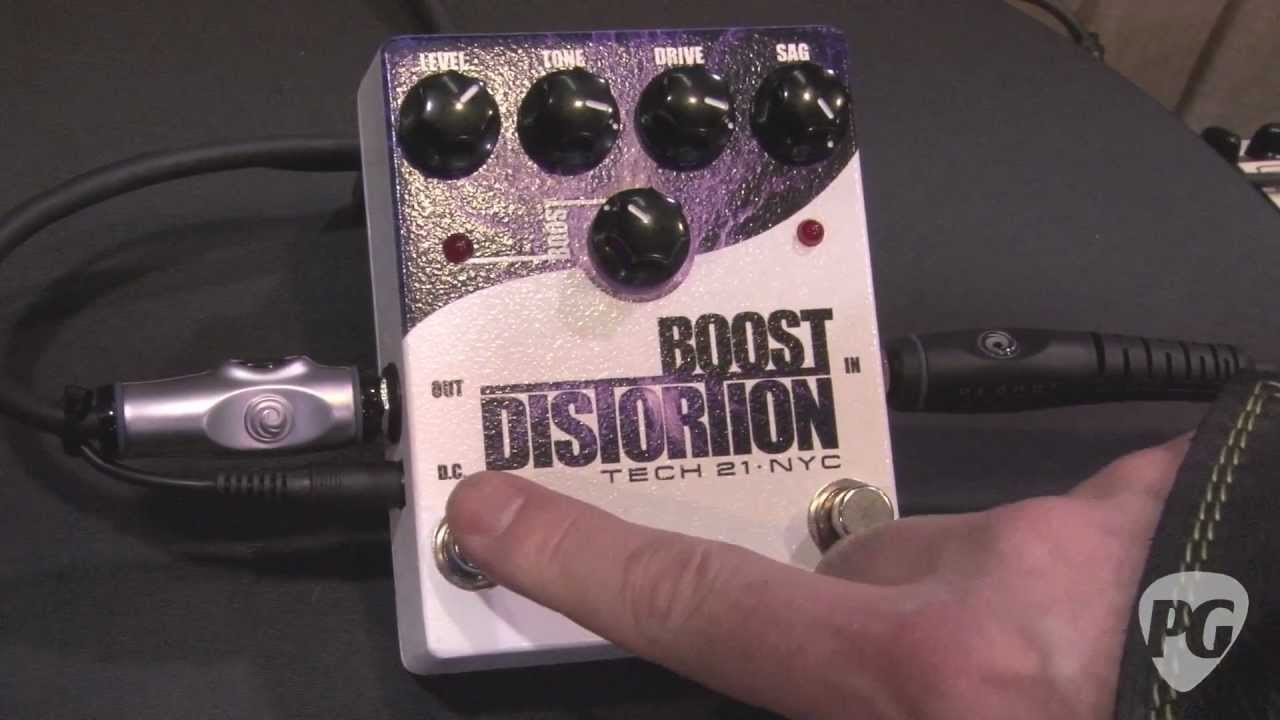 namm 39 12 tech 21 boost overdrive boost distortion boost fuzz bass boost fuzz demos youtube. Black Bedroom Furniture Sets. Home Design Ideas
