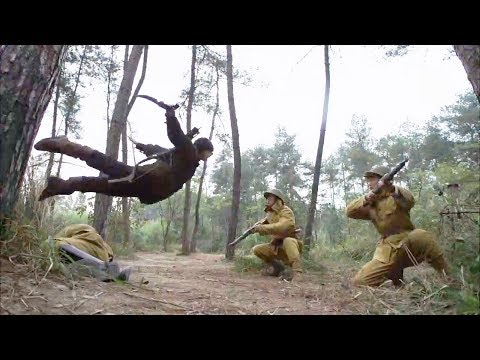 Chinese Hunter Army Cleverly Uses The Jungle To Fight The Enemy!Hunter Soldier 52