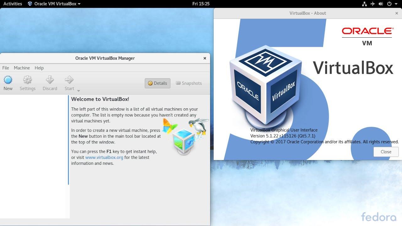 How to Install VirtualBox on Fedora (30) (29) (28) (27)