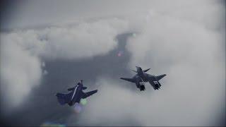 Ace Combat Infinity - Operation Bunker Shot(S Rank) - ADF-01 Falken