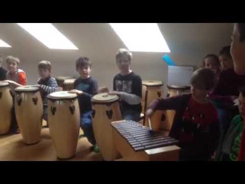 Evangelische Grundschule Schwedt - Musikunterricht 3