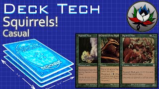 Mono Green Squirrel Casual Deck Tech – MTG!