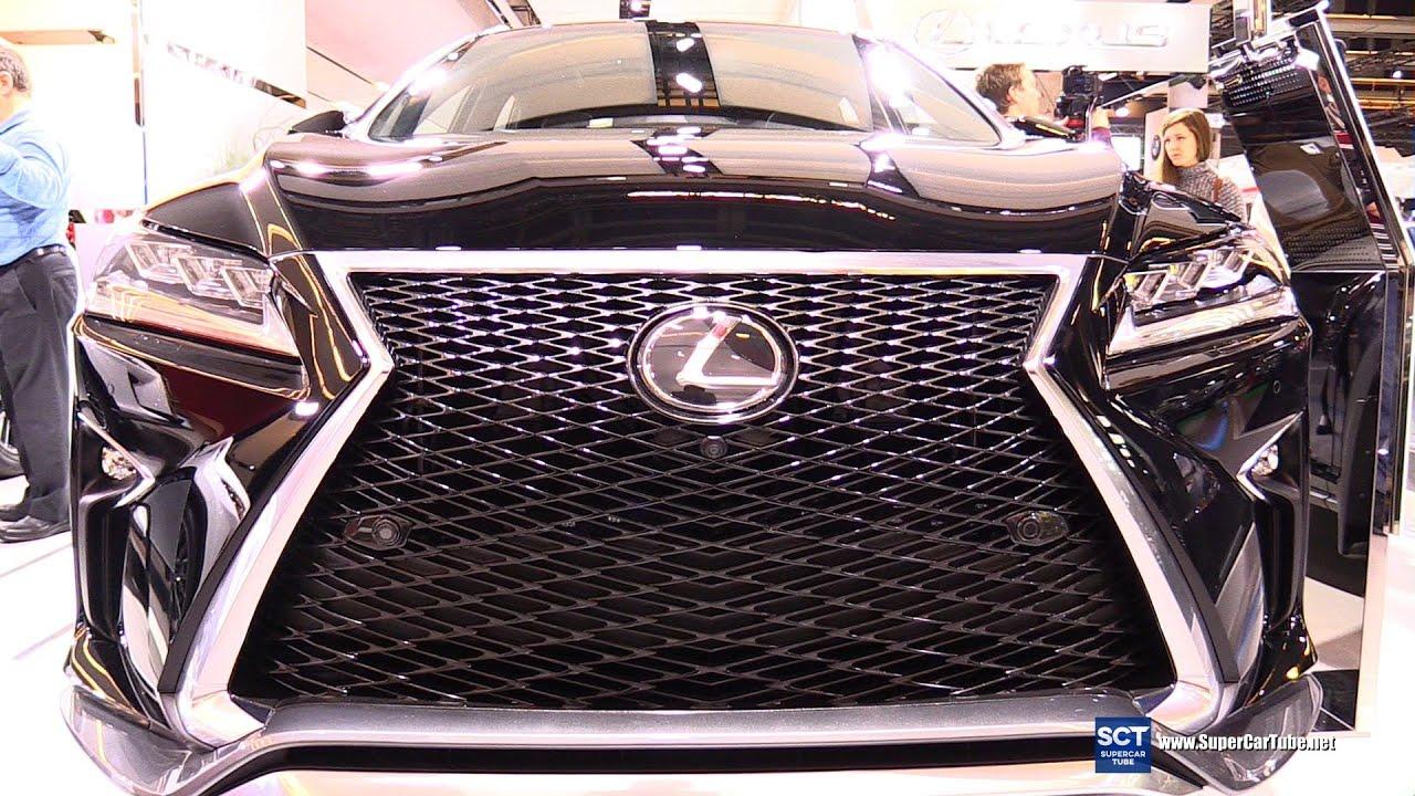 2016 Lexus RX 350 F Sport Exterior and Interior Walkaround
