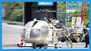Dief ontsnapt met helikopter uit de gevangenis