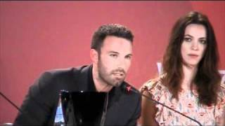 BEN AFFLECK Talking About THE TOWN In Venice