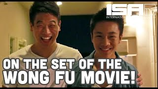 On Set From The Wong Fu Movie! (EXCLUSIVE BEHIND THE SCENES)