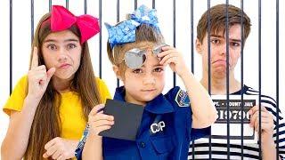 Nastya Artem và Mia  Câu chuyện về một tên cướp và cuộc báo lỗi