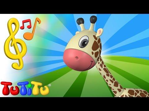 Canciones para niños en Inglés | Jirafa | Aprender inglés para niños y bebés