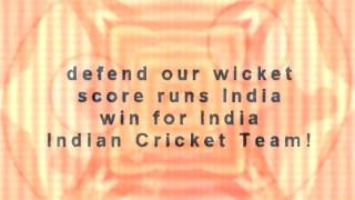 Indian Cricket Team Fight Song (Win For India!)