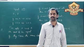 I PUC /Mathematics/- Sets-03