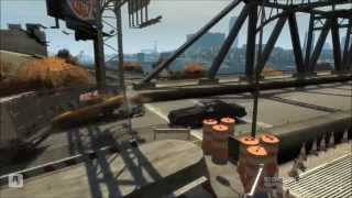 GTA IV: Fails,Deaths,Funny Crashes,Killing people [1080p Full HD]