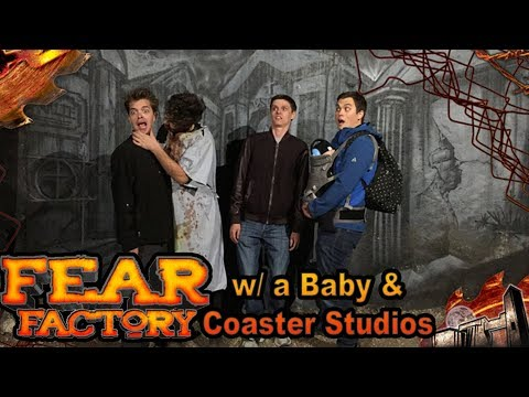 Bringing a Baby to the LONGEST Haunted House!? | Fear Factory SLC Feat. Coaster Studios