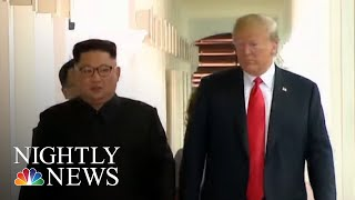 North Korea Still Building Ballistic Missiles, Say U.S. Officials | NBC Nightly News