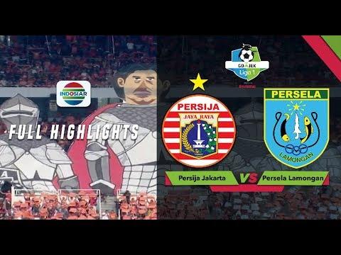 Persija Jakarta (3) vs (0) Persela Lamoangan - Full Highlights | Go-Jek Liga 1 Bersama Bukalapak