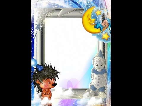 Frame Templates - Free Photoshop Frame Template For Children Pictures (Download & Tutorial)