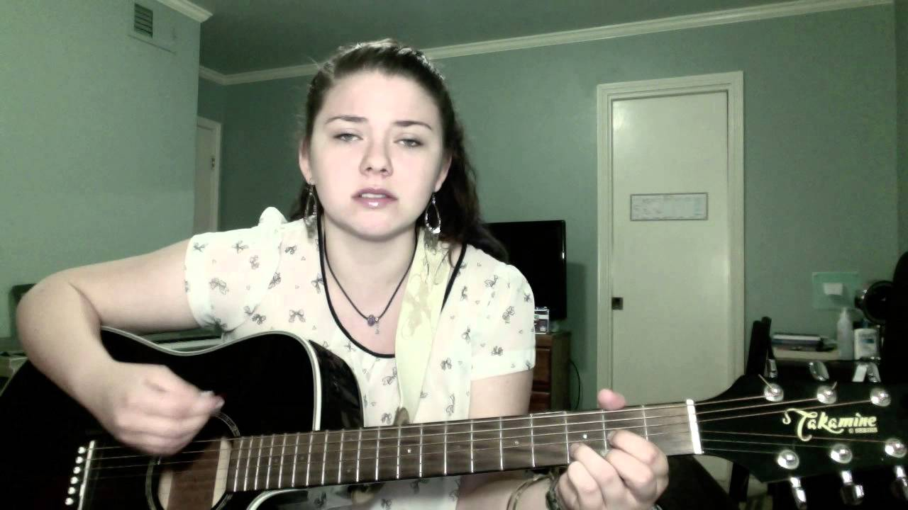 Blue October Hate Me Acoustic Cover By Ambiixrox Youtube