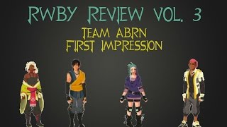 rwby review rtx reveal team abrn